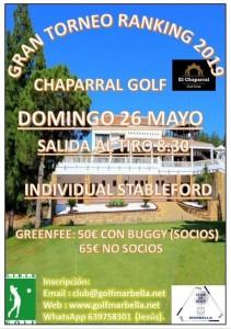 El Chaparal 26 Mayo Espan