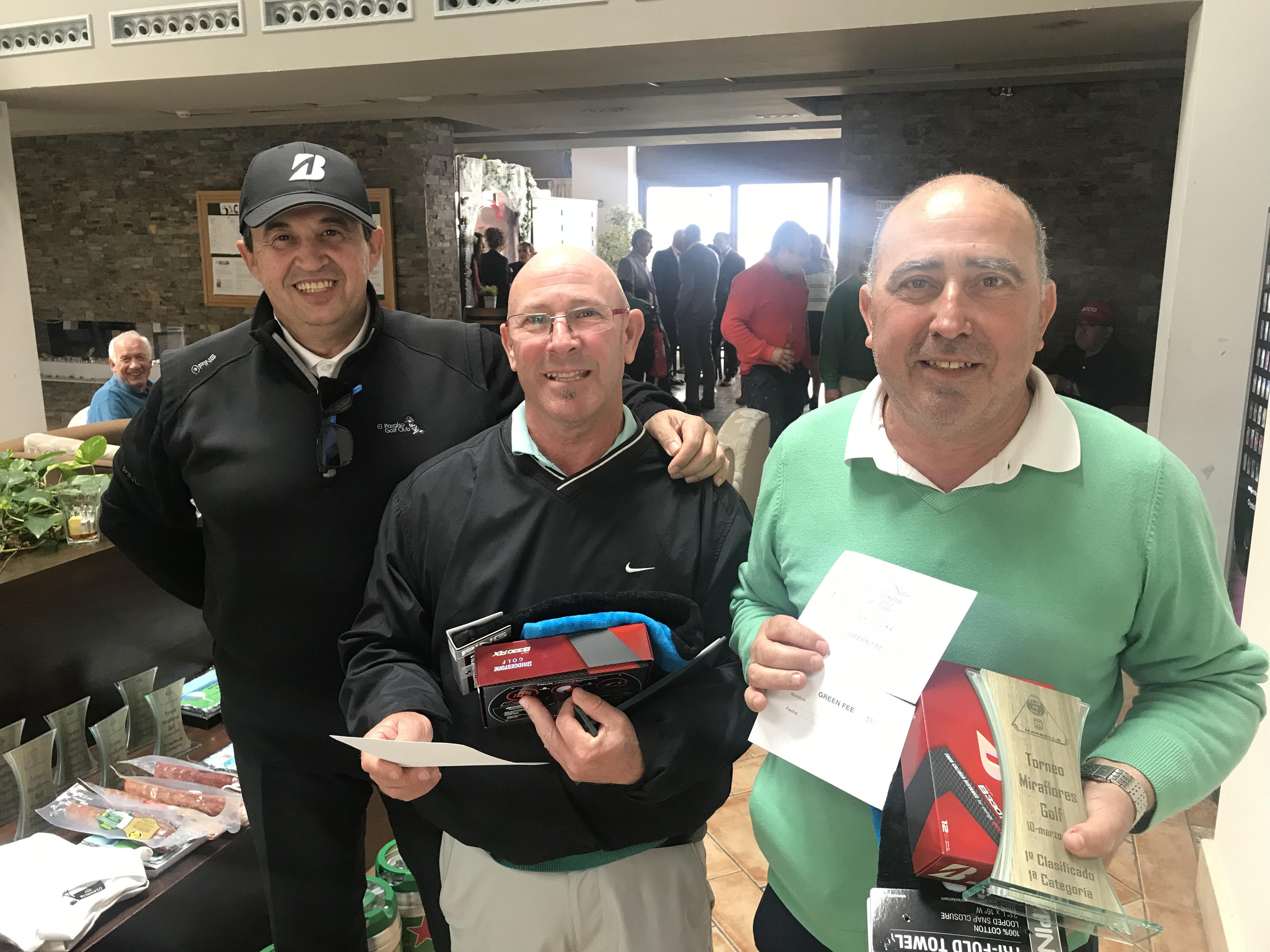 Entrega de premios Miraflores Golf