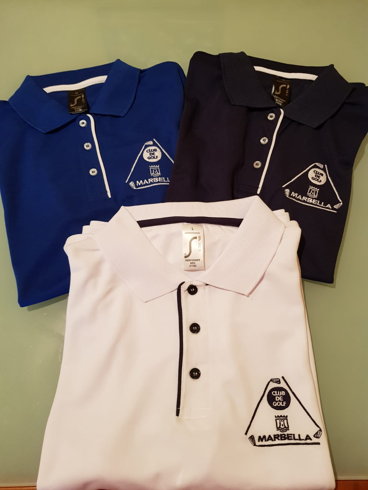 News shirts with Club Logo