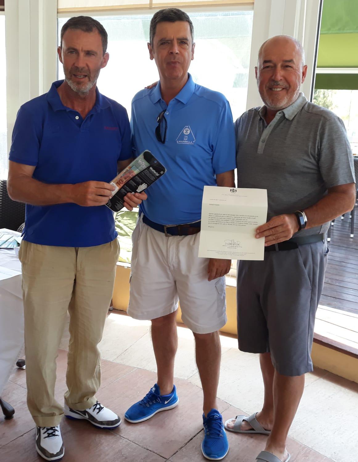 (Español) Entrega de premios El Paraíso Golf