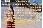 Torneo de Navidad Club de Golf Marbella