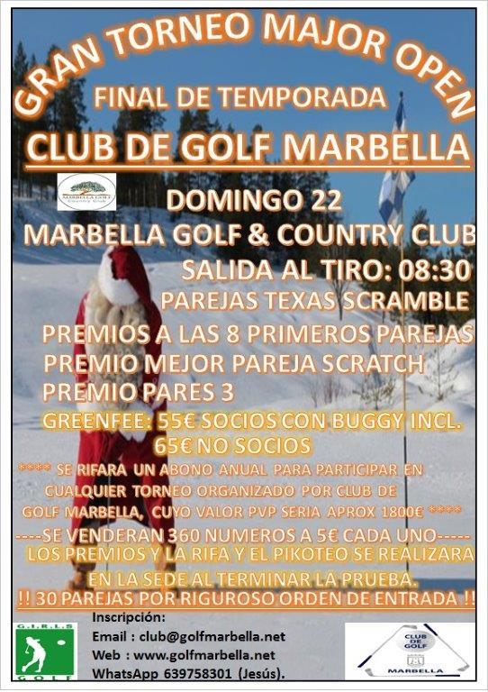<!--:es-->Torneo de Navidad Club de Golf Marbella<!--:-->