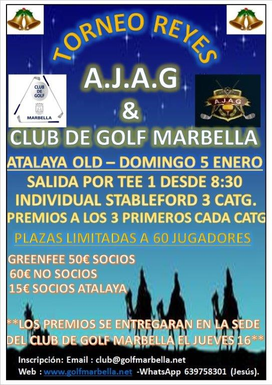 Torneo de Reyes AJAG & Club de Golf Marbella