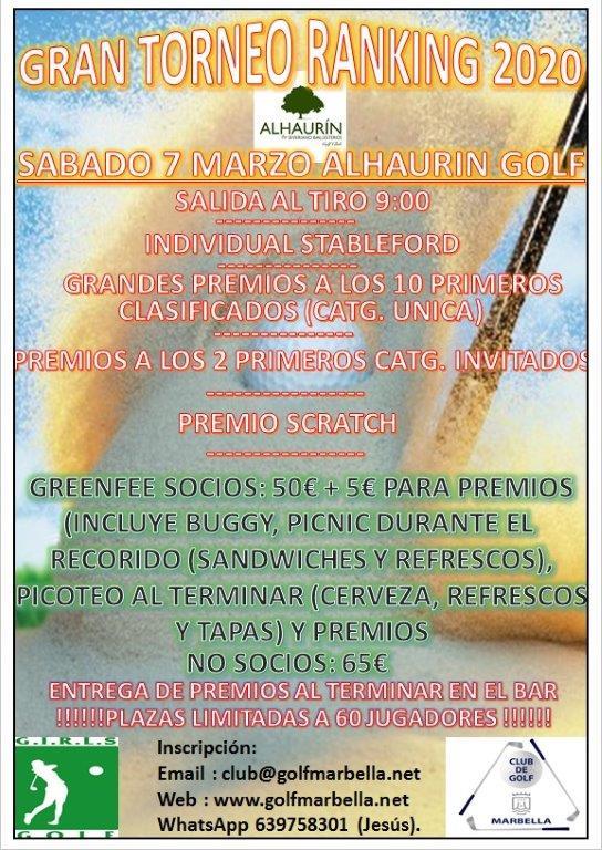 Alhaurin Golf 7 Marzo Espan