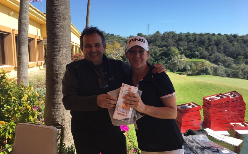 Prizes party at Marbella golf & Country Club